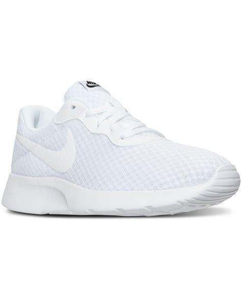 Nike Women s Tanjun Casual Sneakers From Finish Line in ...