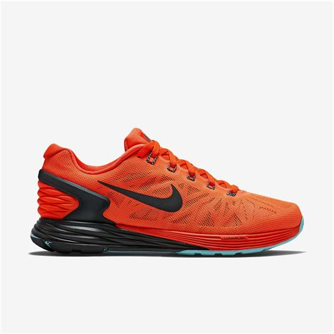 Nike Womens LunarGlide 6 Running Shoes   Bright Crimson ...