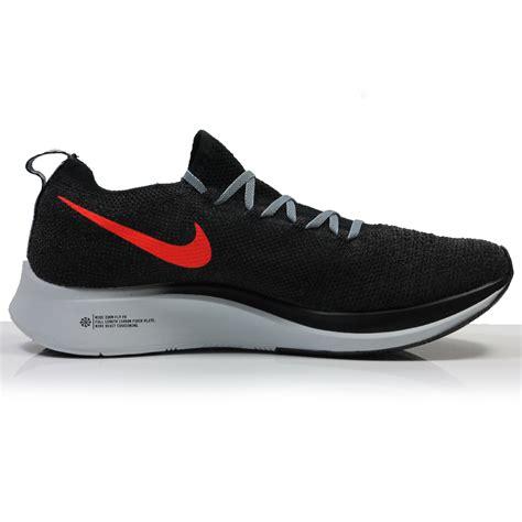 Nike Zoom Fly Flyknit Men s Running Shoe   Black/Bright ...