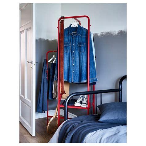 NIKKEBY Burro para ropa   rojo   IKEA