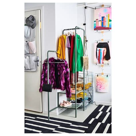 NIKKEBY Burro para ropa, verde grisáceo, 80x170 cm   IKEA