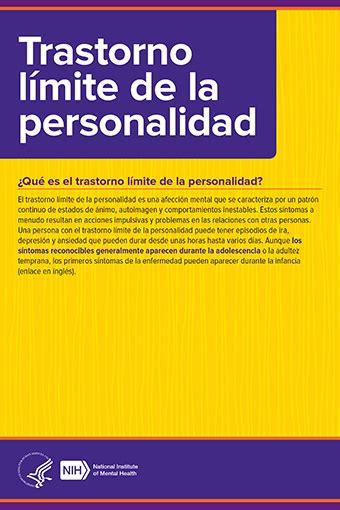 NIMH » Trastorno límite de la personalidad