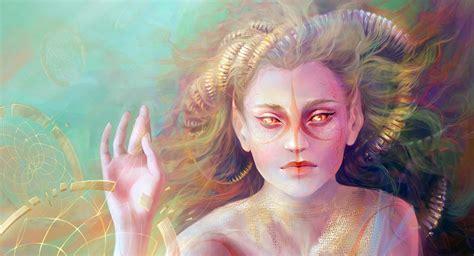 Ninfa   Seres Mitológicos y Fantásticos
