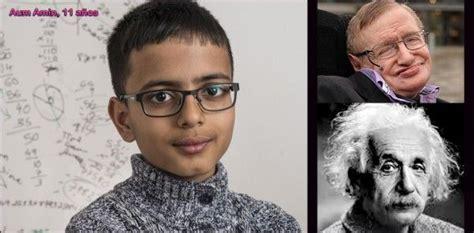 Niño britanico supera coeficiente intelectual de Albert ...