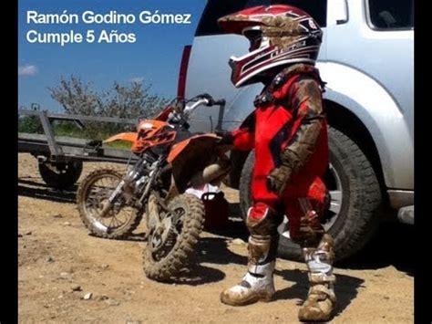 Niño en moto 5 años Ramón Godino   YouTube