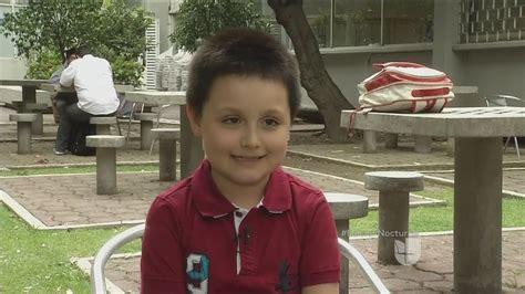 Niño genio de 9 años asiste a la UNAM   YouTube