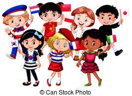 Niños de diferentes culturas. Los niños de diferentes ...