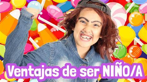 NIÑOS / NIÑAS Y SUS VENTAJAS   Gibby :    YouTube