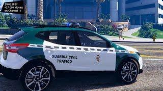 Nissan Qashqai Guardia Civil Trafico   GTA5 Mods.com