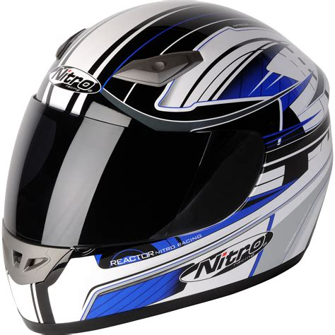 NITRO REACTOR LUXE ACU GOLD FULL FACE RACING MOTORBIKE ...