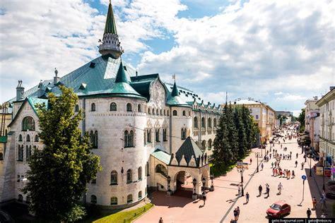 Nizhny Novgorod – the view from above · Russia Travel Blog