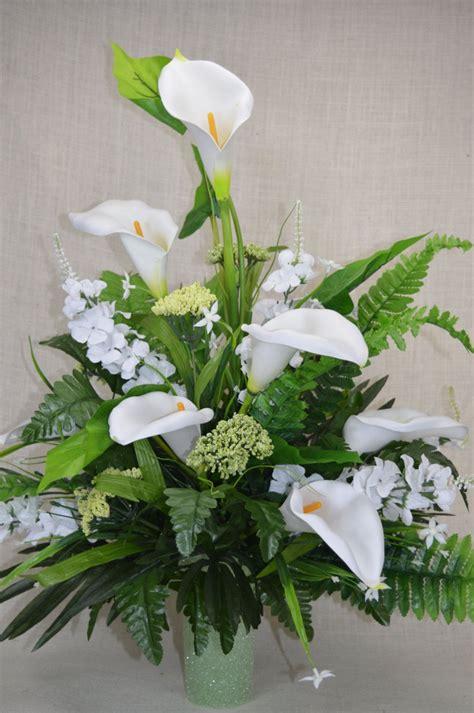 No.C0133 Spring Cemetery Arrangement. , Spring Cone Flower ...