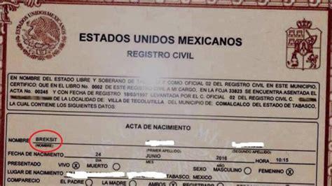 No hay ninguna niña mexicana llamada 'Breksit' | Verne ...
