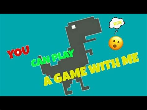 No internet connection DINO game   YouTube