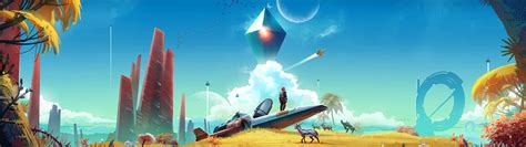 No man s Sky Atlas rises. HD Wallpaper   Background Image ...