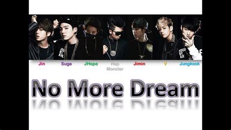 No More Dream   BTS [Han Rom BR Color Coded Lyrics]   YouTube