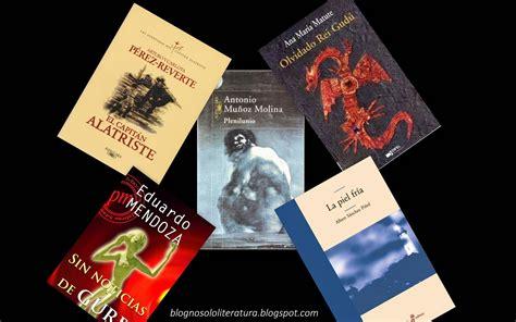 NO SOLO LITERATURA: La novela española actual  Desde 1975