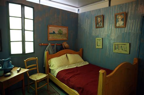 No starry night, but a comfy double bed in Van Gogh s ...