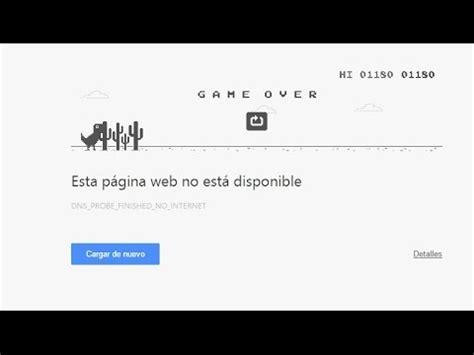 no tuve mi party | dinosaurio de google chrome   YouTube