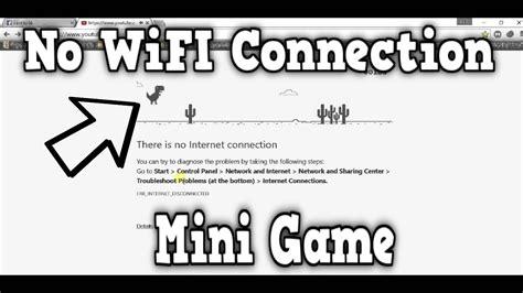 No Wifi Connection Mini Game! | Google Chrome   YouTube