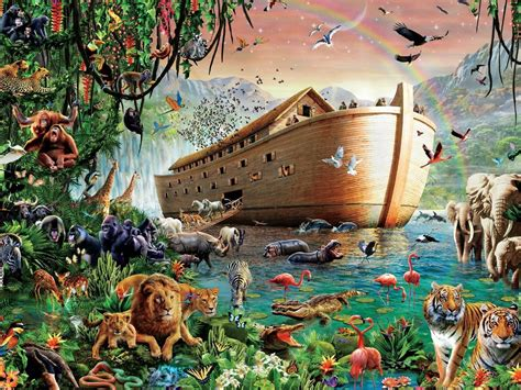Noah s Ark   4000pc Jigsaw Puzzle By Tomax ...