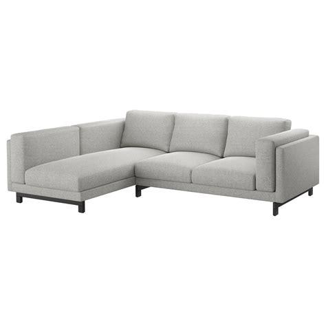 NOCKEBY 3 seat sofa With chaise longue, left/tallmyra ...