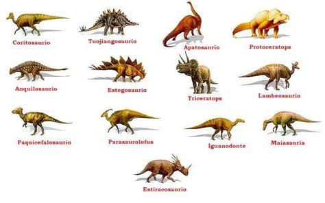 nombres de 10 dinosaurios   Brainly.lat
