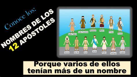 Nombres de los 12 apóstoles de nuestro señor Jesús   YouTube