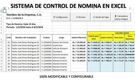 Nomina En Excel Con Recibos Version 2019 + Otro Gratis ...