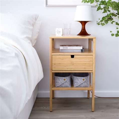 NORDKISA Nightstand, bamboo, Width: 15 3/4    IKEA