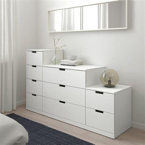 NORDLI Chest of 9 drawers, white, 160x99 cm   IKEA