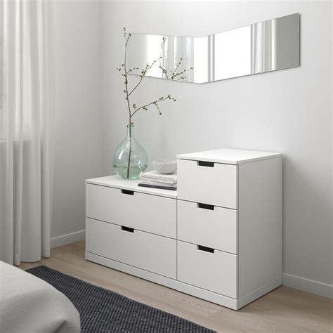 NORDLI Cómoda de 5 cajones   blanco   IKEA