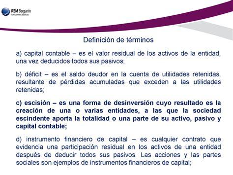 Norma de información financiera NIF C 11. Capital contable ...