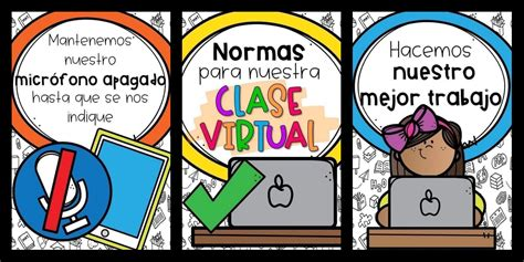 NORMAS PARA CLASE VIRTUAL – Imagenes Educativas
