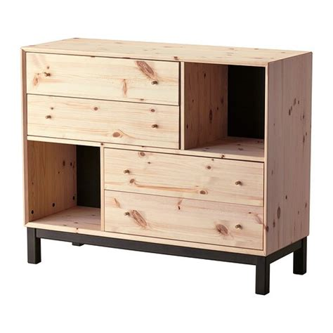 NORNÄS 4 drawer chest with 2 compartments   IKEA