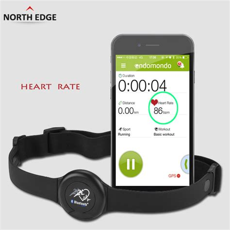 NORTHEDGE Bluetooth Wireless Sport Heart Rate Monitor ...