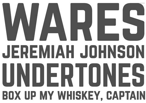 Norwester   A Font by Jamie Wilson