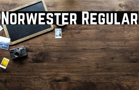Norwester Regular Font   FFonts.net