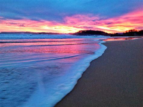 Nos mojamos los pies para enseñarte el amanecer de este ...