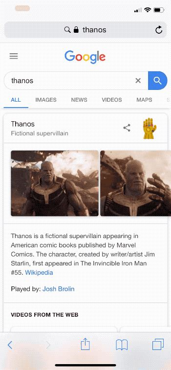 Not even Google can survive Thanos  snap in this Avengers ...