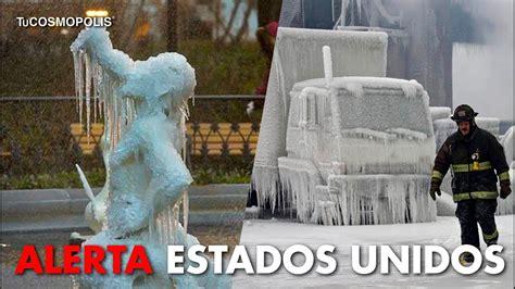 Noticia de última hora: Ola de frío en Estados Unidos ...