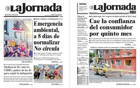 Noticias Guerrer@s SME: Periódico LA JORNADA: Emergencia ...