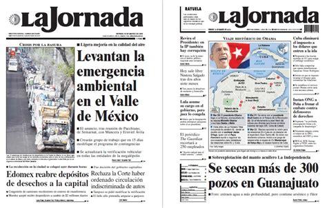 Noticias Guerrer@s SME: Periódicos LA JORNADA: Levantan la ...