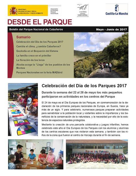 Noticias sobre el Parque Nacional de Cabañeros: Boletín ...