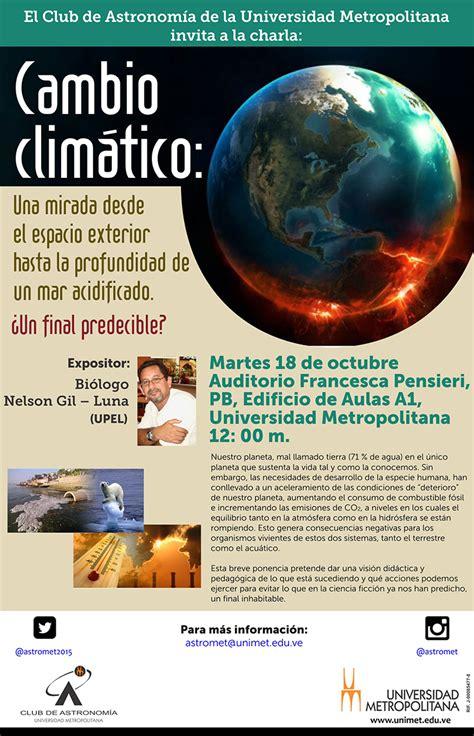 Noticias UPEL Miranda: Cambio climático: Una mirada desde ...