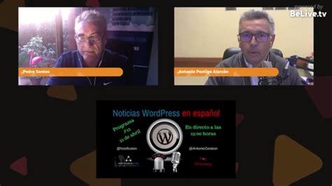 Noticias WordPress en español programa 12   YouTube