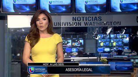 NoticiasYa DC   Noticias Univision Washington 6pm con Tsi ...