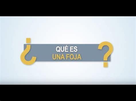 Noticiero Judicial: Cápsula Educativa   ¿Qué es una foja ...