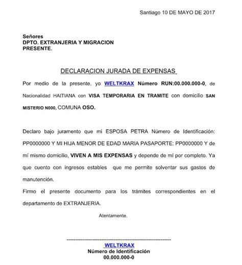 Notiguias: Declaracion Jurada de Expensas Con Hijos Para ...