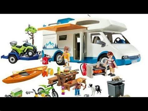 Nouveautés Playmobil 2020/2021 Camping car summer fun ...